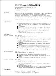 Traditional Resume Format Enchanting Free Traditional Medical Assistant Resume Template ResumeNow Resume
