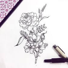 флора растения тату эскизы галерея идей для татуировок фото