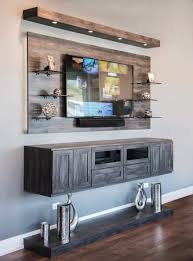 home design idea captivating furniture remarkable floating entertainment center in grey color pertaining to captivating