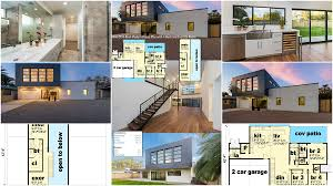 raised bungalow renovations house plans with bat garage new philippines cool indian home and designs additional