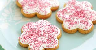<b>Pink flower</b> cookies