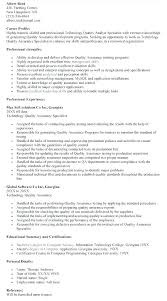 Information Technology Manager Cover Letter Quality Assurance Cover