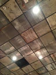 metal ceiling tiles corrugated metal tiles ceiling ideas industrial design