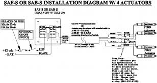 wiring diagram flat rocker switch saf s saf ns sf s series saf s 4 actuator