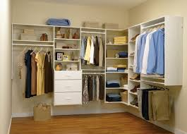 walk in closet solution easy track system