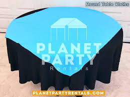 black round tablecloth wedding pictures