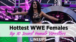 top 10 hottest wwe female wrestlers