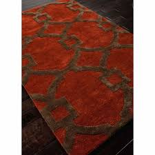 red and brown rug rugs hand tufted geometric pattern wool art silk red brown area rug red and brown rug