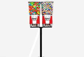 Lacrosse Vending Machine Mesmerizing GV48F Candy Vending Machine Gumball Machine Toy CapsuleBouncing