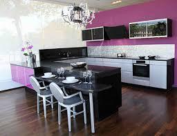 Black Kitchen Laminate Flooring Purple Kitchen Cabinet With Black Table And Laminate Flooring