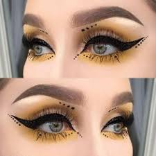 if you like bee makeup you might love these ideas