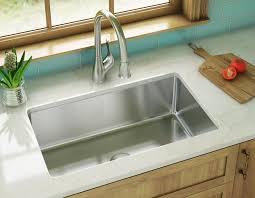 VIGO Undermount Stainless Steel 23 In Single Bowl Kitchen Sink 25 Undermount Kitchen Sink