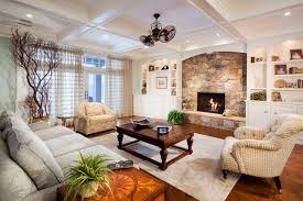... Extremely Creative Stone Fireplace Design Ideas 21 Traditional Living  Room With Stacked Fireplace ...