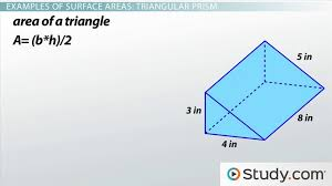 What is Surface Area? - Definition & Formulas - Video & Lesson ...