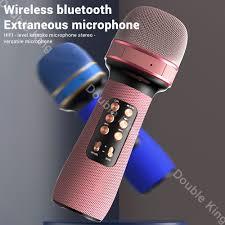 WS 898 Bluetooth Micro Cầm Tay Không Dây Karaoke Loa Đôi Condenser Mic Nghe  Hát Dành Cho IOS Android Smart Tivi|Microphones