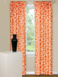 geometric orange curtains curtain panels with geometric design in orange and white burnt orange geometric curtains geometric orange curtains
