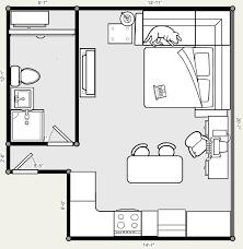 20 X 20 Studio Apartment Floor Plans More