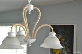 rope wrapped light fixture