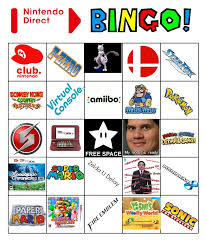 Nintendo Direct Bingo 4/1/2015 by IcemanBXR on DeviantArt via Relatably.com