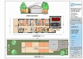 various narrow lot house plans single story y homes small perth