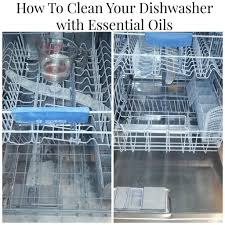 How To Clean A Dishwasher Essential Oil Cleaning Hacks