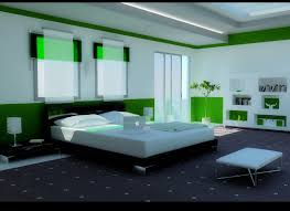 Modern Bedroom Interiors 16 Green Color Bedrooms
