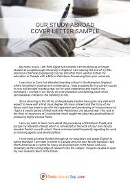 work study cover letters pin by study abroad document samples on cover letter for study