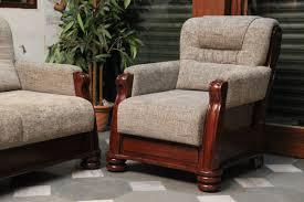 Tapestry Sofa Living Room Furniture Teak Wood Sofa With Jute Tapestry Furniture Designs Pinterest