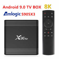 New X96 Air Android 9.0 TV BOX Amlogic S905X3 4GB 64GB 32GB wifi 8K Netflix  X96Air 2G16G X96air Set Top Box|Set-top Boxes