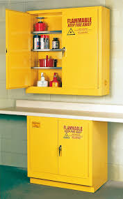 Yellow Flammable Cabinet Eagle Flammable Liquid Safety Storage Cabinet 22 Gal Yellow