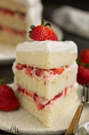 Strawberry Cream Cake Call Me Pmc