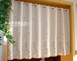 office coffee cabinets. new british halfcurtain embroidered window valance translucent customize coffee partition curtains for kitchen cabinet door office cabinets i