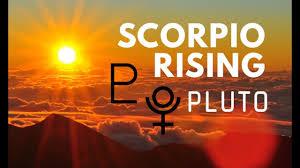 Scorpio Rising Ascendant Chart Ruler Pluto Hannah S Elsewhere