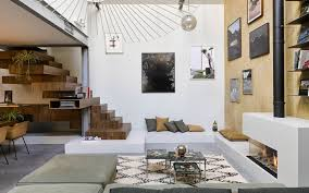 Woonkamers Luxueuze Loft Inrichting Zw6 Studio Jeroen Van