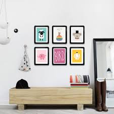 picture frames on wall. Wall Sticker Magnetic Photo Picture Frames Decor Movable Flexible Colorful Square Frame For 5 Pcs / Lot-in From Home \u0026 Garden On O
