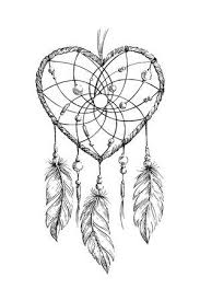 Heart Dream Catcher Tattoo Gorgeous 32 Dream Catcher Tattoo Cliparts Stock Vector And Royalty Free