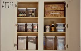 after the deep clean our kitchen pantry was much easier to navigate