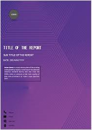 Cover Page For Assignment Free Download Purple Hexagon Cover Page In 2019 Cover Pages Cover Page