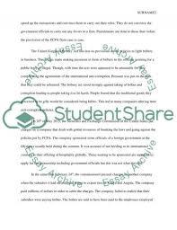 case study bribery assignment example topics and well written  case study bribery essay example