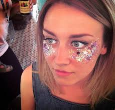 you want to the 25 best ideas about glitter face on glitter face makeup festival makeup