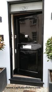 black gloss external door mirror effect