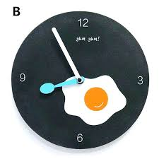 modern decorative wall clocks cheese kitchen inch fun uk