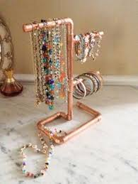 Earring Display Stand Diy Copper Spiral Earring Display Stand Cascade Holds 100 72