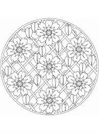 Mandalafiori8 Disegni Da Colorare Per Adulti E Ragazzi Da Fare 3