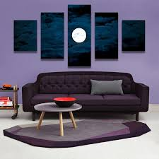 home decor canvas wall art decor painting moon at night wall picture canvas art print from photo on canvas for the home uk 2019 from watchr