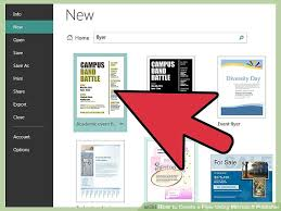 Build Your Own Flyer How To Create A Flyer Using Microsoft Publisher 11 Steps
