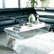 clear side table acrylic clear acrylic side table canada