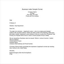 Business Correspondence Letters Examples Business Letter Format Template Business