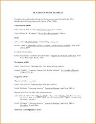 Bibliography Format For Articles College Paper Sample July 2019