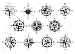 32712552 Vector Antique Compasses With Ornate